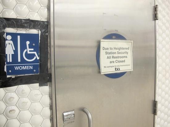 Bart Bathroom Lockdown Safety Measure Or Brother
